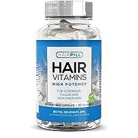 Hair Pill - UK's Number 1 Hair Loss Solution, Biotin, Hair Regrowth, High Potency...