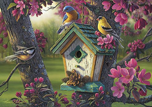 Buffalo Games - Kim Norlien - Springtime Beauty - 300 Large Piece Jigsaw Puzzle