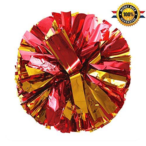 Usc Cheerleader Costumes - PUZINE Cheerleading Metallic Foil & Plastic