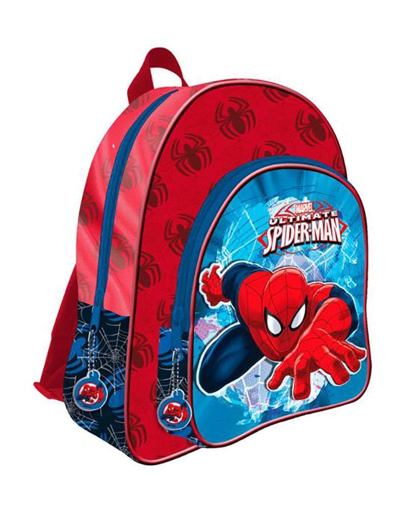 Mochila Spiderman Marvel Spider Jump doble bolsillo adaptable 41cm: Amazon.es: Oficina y papelería