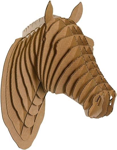 Cardboard Safari Recycled Cardboard Animal Taxidermy Horse Trophy Head