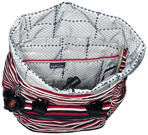 Stripes Kipling Experience Sugar Multicolour S Women's Backpack wYYBrqF6