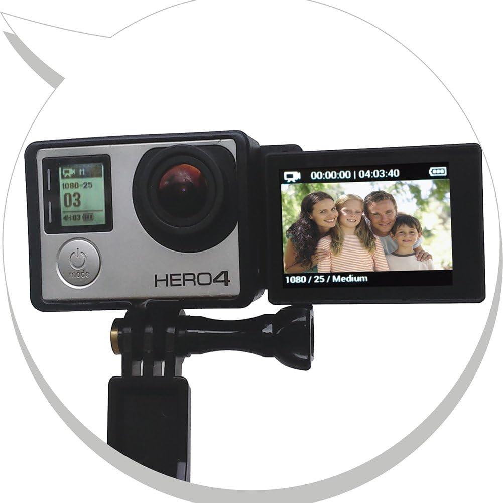 LEDMOMO Selfie LCD Screen Converter Box /Écran Avant Adaptateur Selfie pour GoPro Hero 3 3 4 LCD tactile BacPac