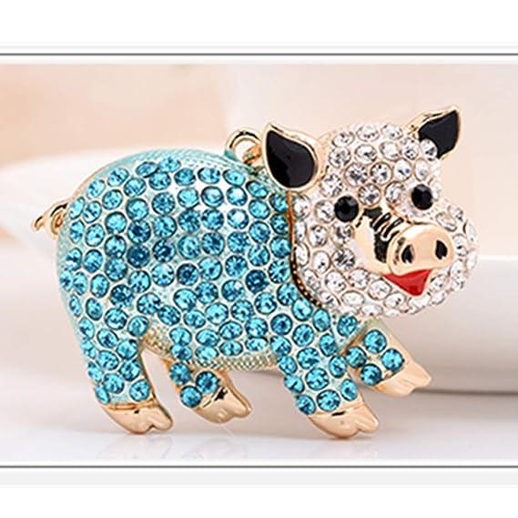 Amazon.com: GH8 Kawaii - Llavero con forma de cerdo de ...