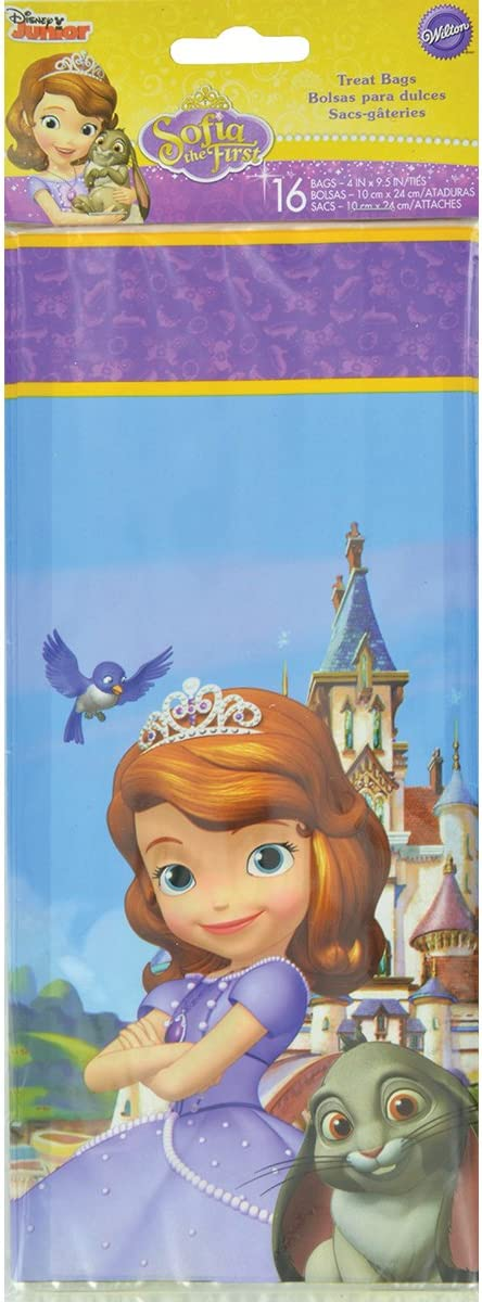 Wilton 16 Count Sofia The First Treat Bags