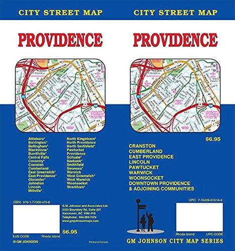 Providence, Rhode Island Street Map: GM Johnson ...