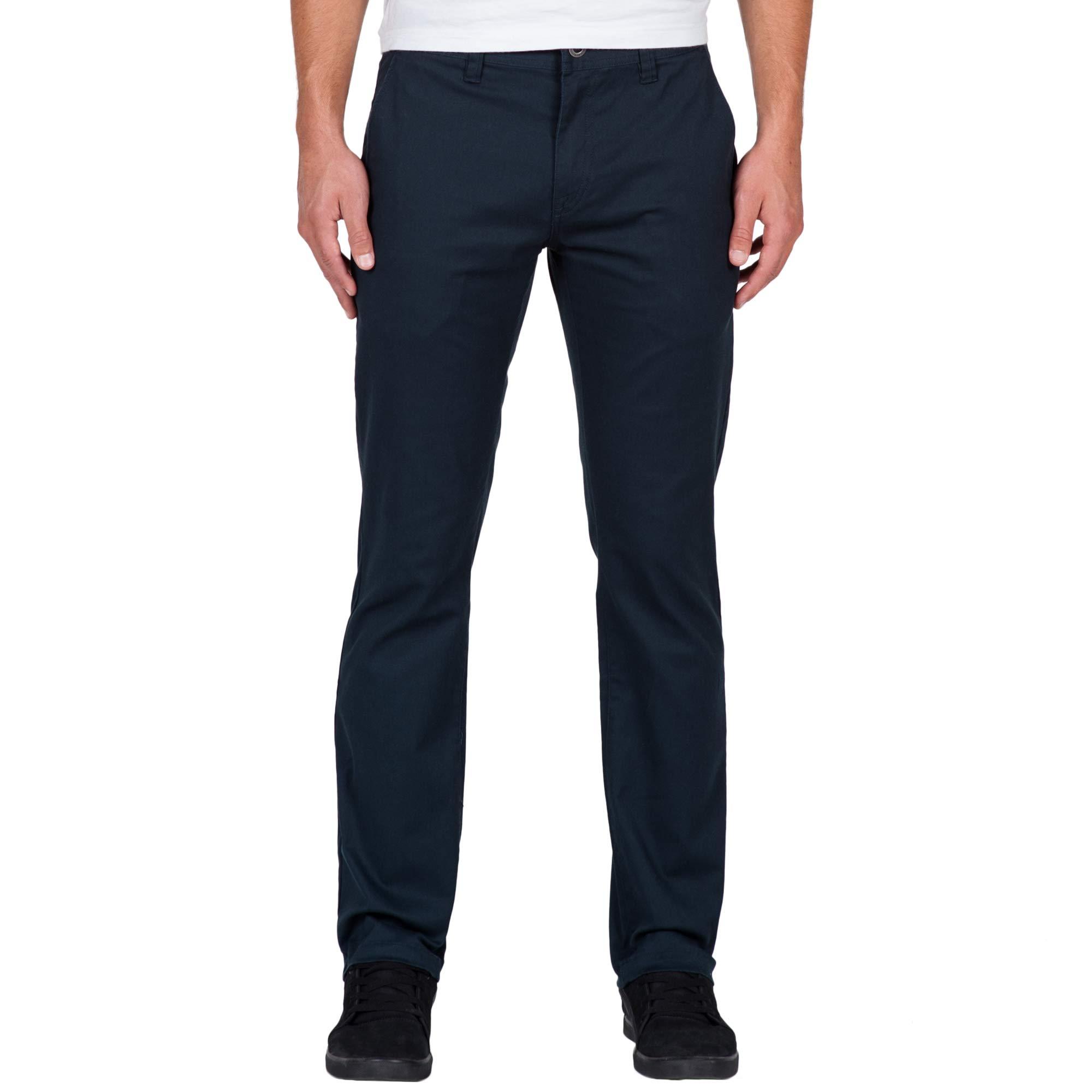 Volcom Men's Frickin Modern Fit Stretch Chino Pant, Dark Navy 2016, 36