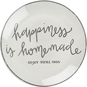 Primitives by Kathy Decorative Blessing Plate Happiness Is Homemade