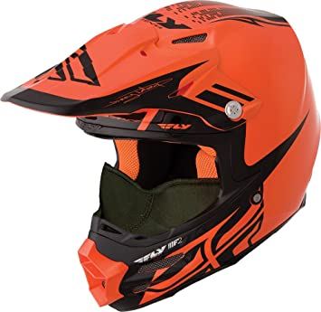 Fly Racing - Casco Dubstep de carbono para adulto F2