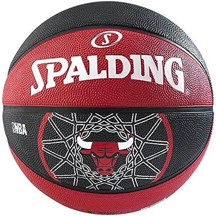 Spalding NBA Team Chicago Bulls Balón de Baloncesto, Unisex Adulto ...