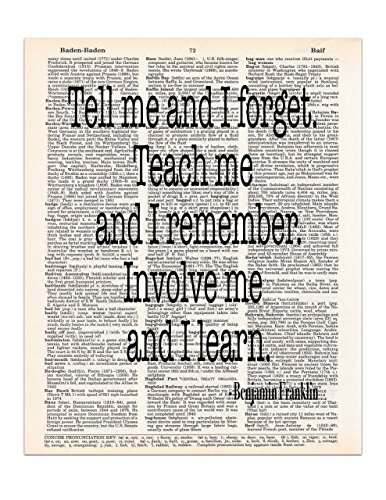 tell-me-and-i-forget-benjamin-franklin-quote-dictionary-page-art-print-8x11-unframed
