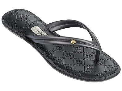 8cf034e00146b1 Grendha Sandal Sense Thong II Black Silver (6