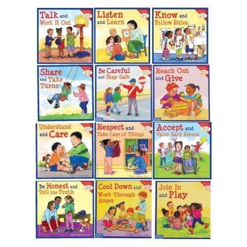Learning to Get Along Resource Library Set of 12 Soft Cover Books