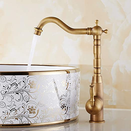 Retro Waschtischarmatur Einhebelhebel Wasserhahn mit hohem ...