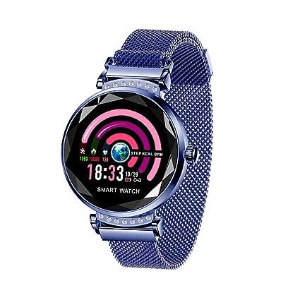 XYhjd Relojes Inteligentes detección de frecuencia cardíaca en Tiempo Real IP67 a Prueba de Mujer Reloj