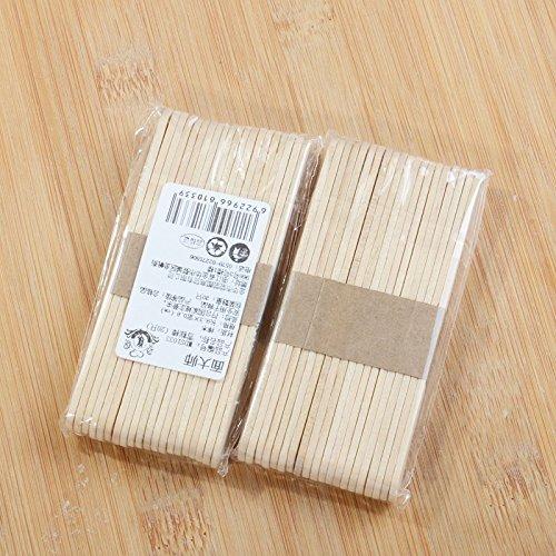 Dosige Holzst/äbchen 93 x 10 x 2 mm 100 St/ück Natur