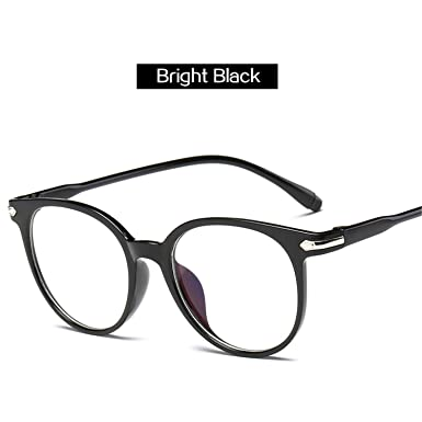df9edbf4e4 Clear Fake Glasses Men Vintage Round Optical Eye Glasses Frames For Women Transparent  Eyeglasses Frame Bl