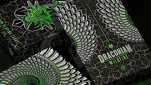 Draconian Wildfire Playing Cards (Illusions Optical Card Playing)