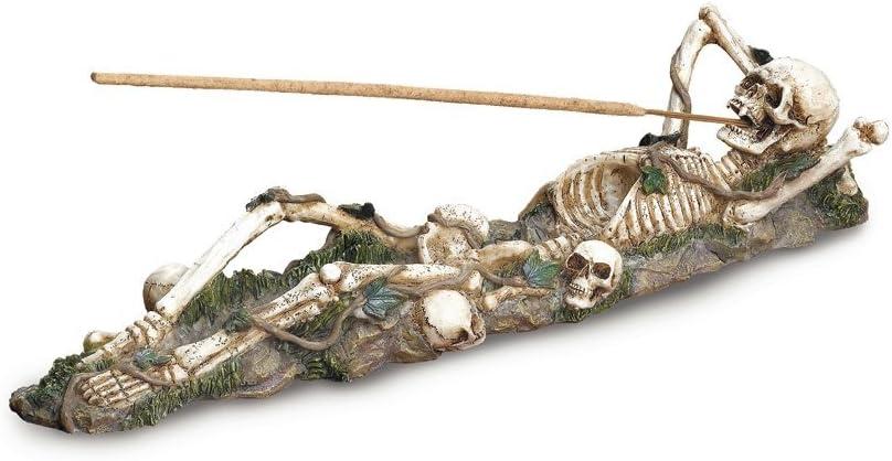 Gifts & Decor Skeleton Incense Burner Holder Collector