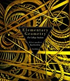 Elementary Geometry for College Students, Daniel C. Alexander and Geralyn M. Koeberlein, 061822176X