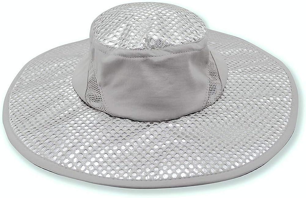 yunshuoa Evaporative Cooling Hat Summer Ice Cap Sun Hat Cooling Hat for Women Men