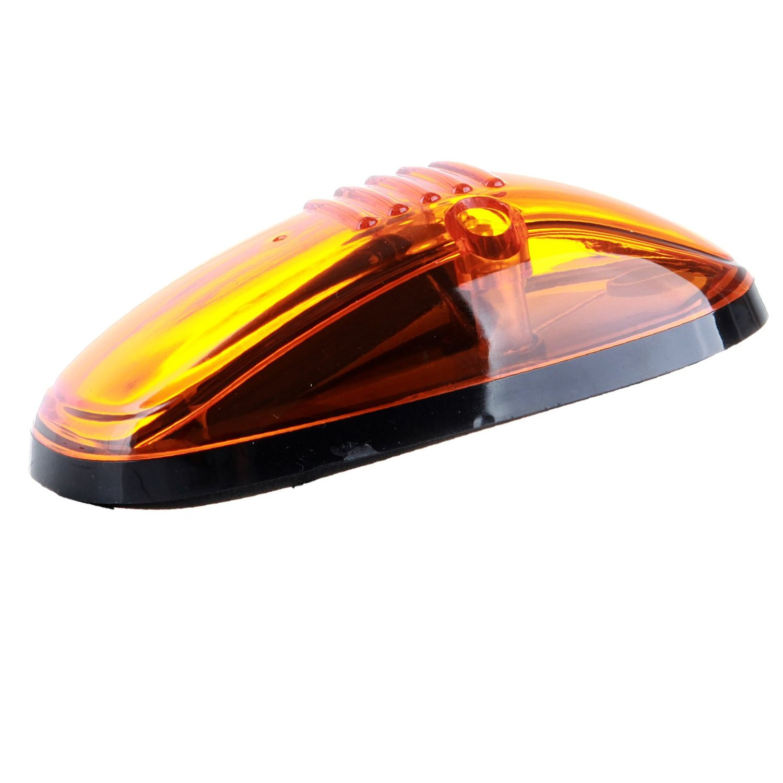 5 Pcs Amber Lens 9 Amber LED Cab Marker Clearance Light Roof Running Light Assembly For 1999-2002 Dodge Ram 2500 3500 Trucks TadaMark 4333003086