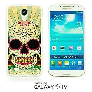 OnlineBestDigitalTM - Skull Pattern Hardback Case for Samsung Galaxy S4 IV I9500 / I9505 - Retro Skull