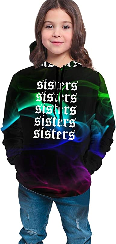 Girls Sports & Fitness Sisters James-Cha-Rles Merch Hoodie Clothes ...