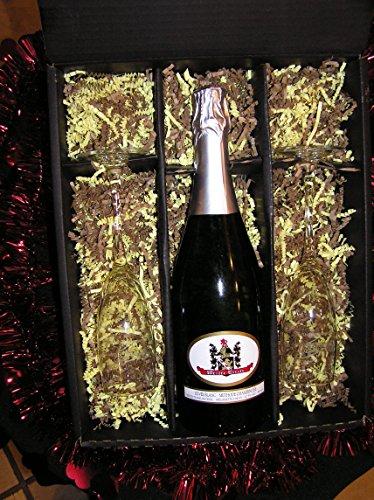 New World: Wetzel Estate Valentine's Day Champagne Gift Set, 750 mL