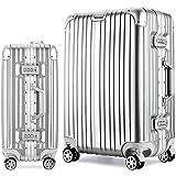 Osonmアルミニウムマグネシウム合金製 スーツケース キャリーバッグ 機内持ち込みスーツケース TSAロック 自在車 キャスター 5色6013
