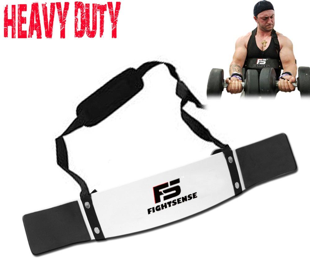 FS brazo Blaster bíceps tríceps Bomber aislador muscular Fitness gimnasio Entrenamiento formación apoyo nuevo, Plateado: Amazon.es: Deportes y aire libre