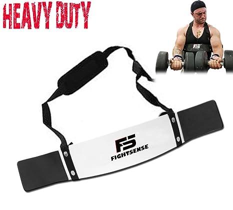 FS brazo Blaster bíceps tríceps Bomber aislador muscular Fitness gimnasio Entrenamiento formación apoyo nuevo, Plateado