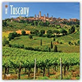 Tuscany 2018 12 x 12 Inch Monthly Square Wall Calendar, Scenic Travel Europe Italy (Multilingual Edition)