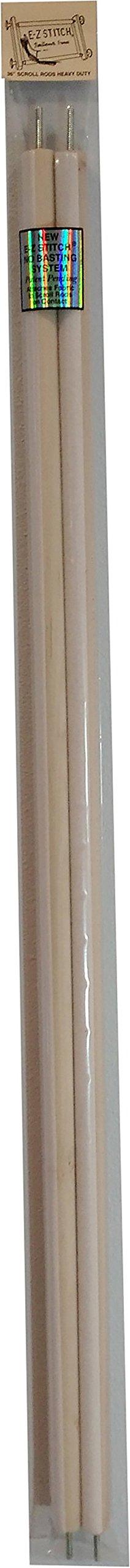 E-Z Stitch Scroll Rods 36'' Heavy-Duty .625'' by E-Z Stitch