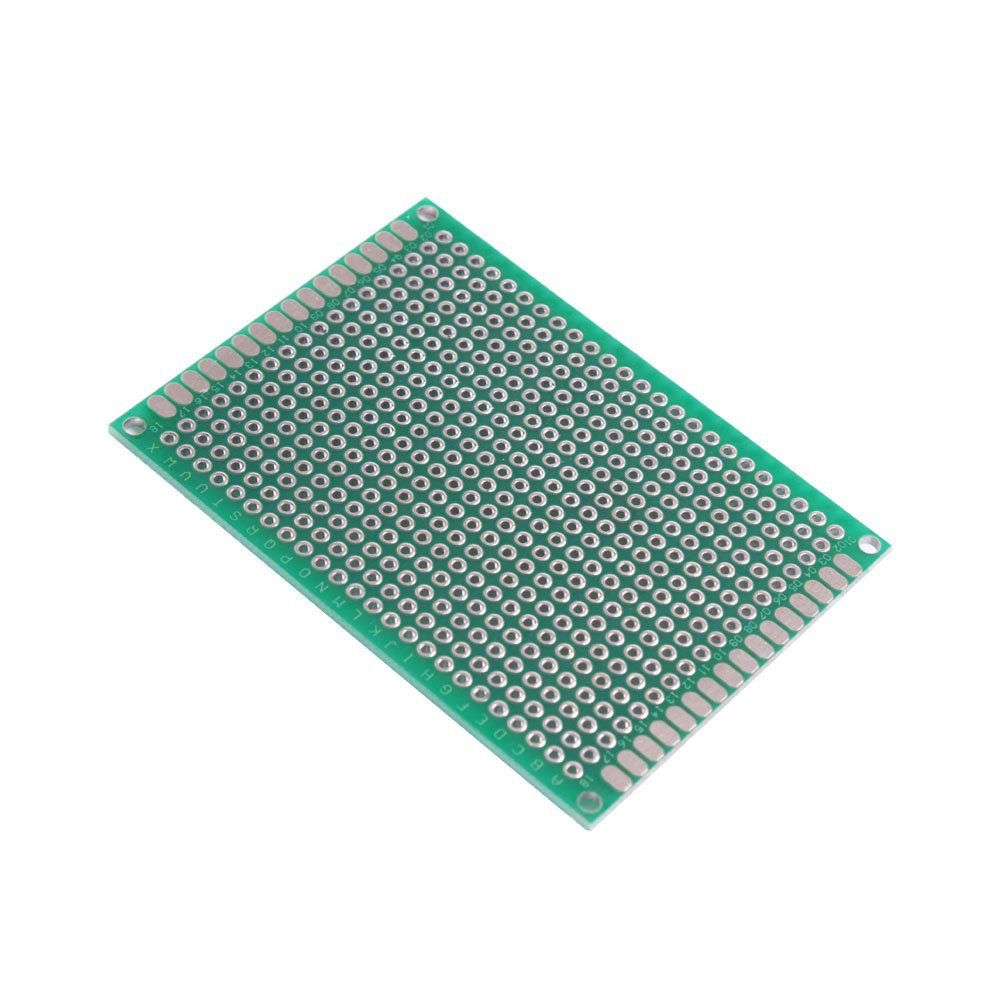 Teenitor Prototype Board Proto For Small Project 24 Pcs 5x7 Doubleside Pcb Universal Printed Circuit Electronics 4x6 3x7 2x8cm Top Quality Double Side