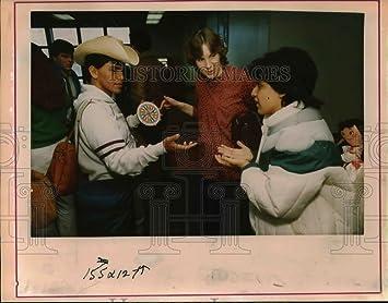 1986 Press Photo Olger Palmer, Sandra Lee and Patricia Hernandez - orc04051