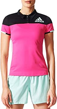 adidas Performance - Polo de bádminton para Mujer, Color Rosa ...