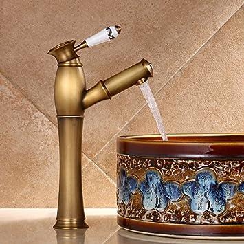 Ajunr Komplettes Badezimmer Armaturen Kupfer Antiken Becken Sitzbank