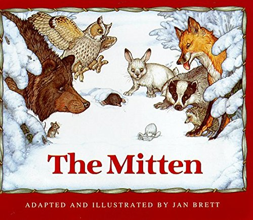 The Mitten by Jan Brett (1999-08-31)