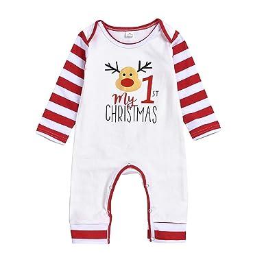 SUDADY - Pijama de Navidad para niño, Traje de Vestido ...