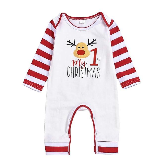 SUDADY - Pijama de Navidad para niño, Traje de Vestido, Disfraz de ...