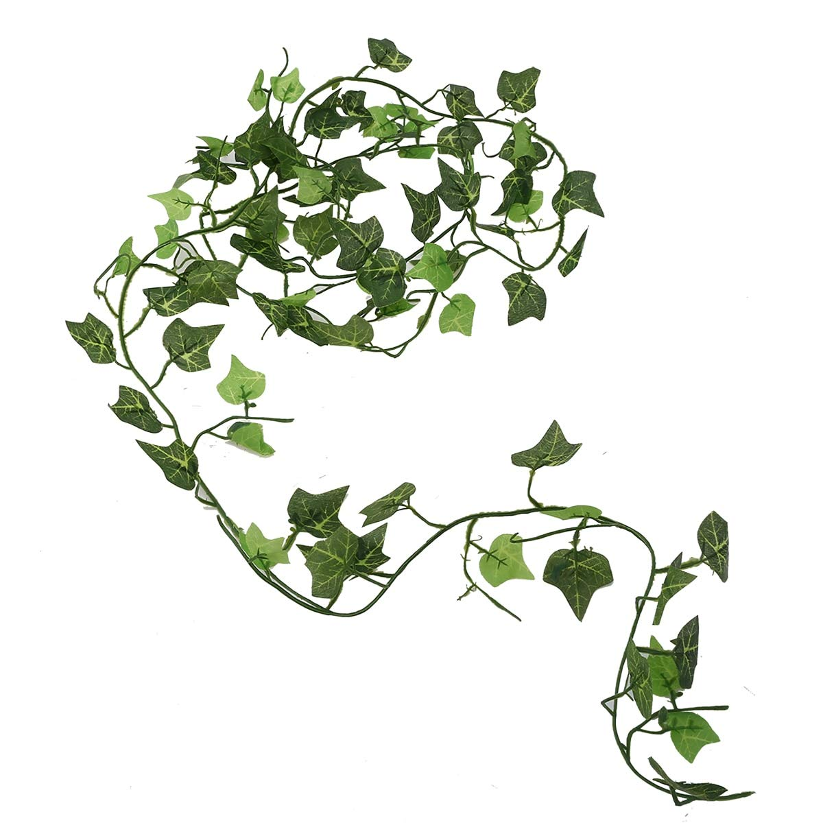 VHLL 2.4m Artificial Ivy Vine Leaf Fake Sweet Potato Foliage Garland Plant Home Wedding Decoration Hanging Garland Decor