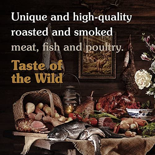Taste of The Wild Grain Free High Protein Real Meat Recipe Rocky Mountain Premium Dry 5