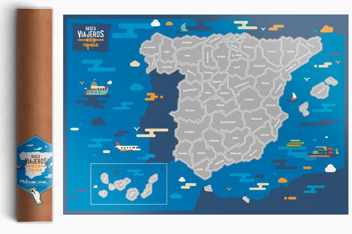 Rasca Viajeros Mapa rascable España product image