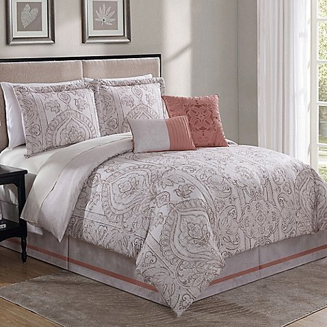 Greystone Collection 6 Comforter Set Haven -