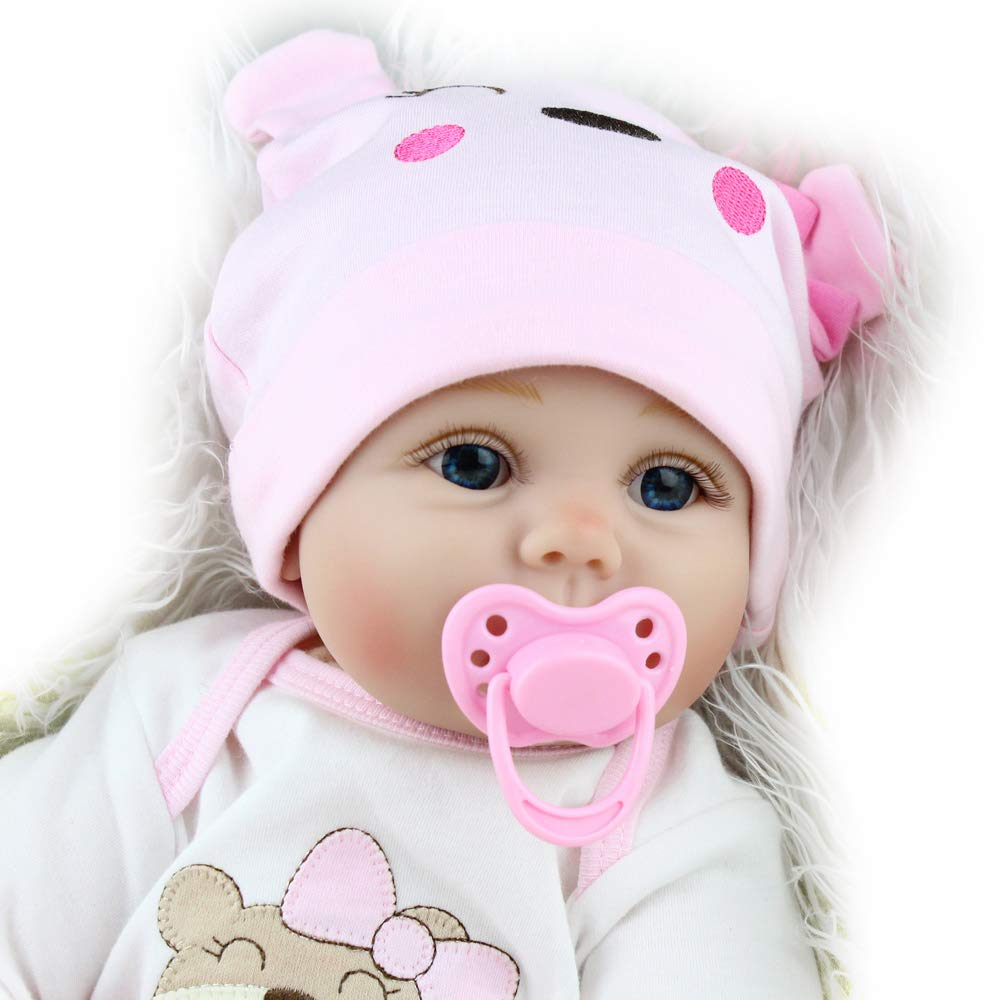 Charex Reborn Baby Dolls Lucy 22 Inch Realistic Girl Doll