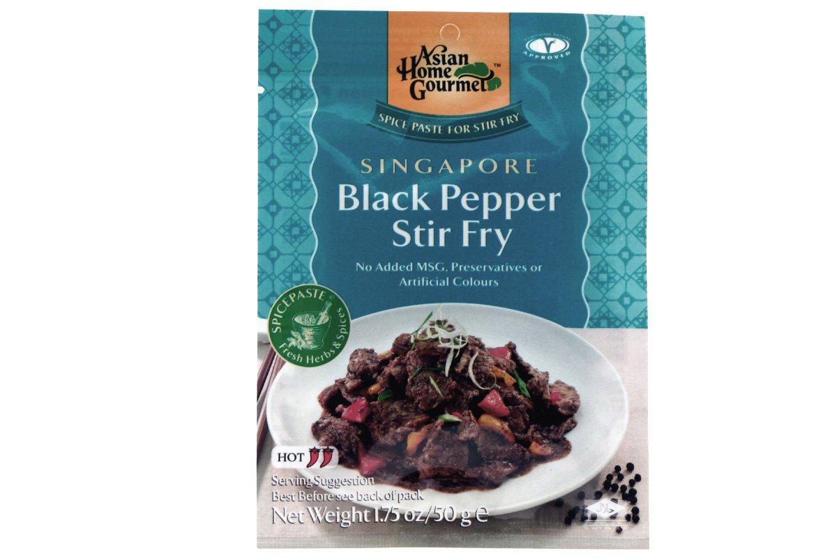 Amazon.com : Asian Home Gourmet Spice Paste for Stir Fry: SINGAPORE ...