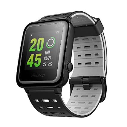 Weloop hey 3s Sports Smartwatch,Fitness Tracker Waterproof Watch With Heart Rate Monitor [Activities