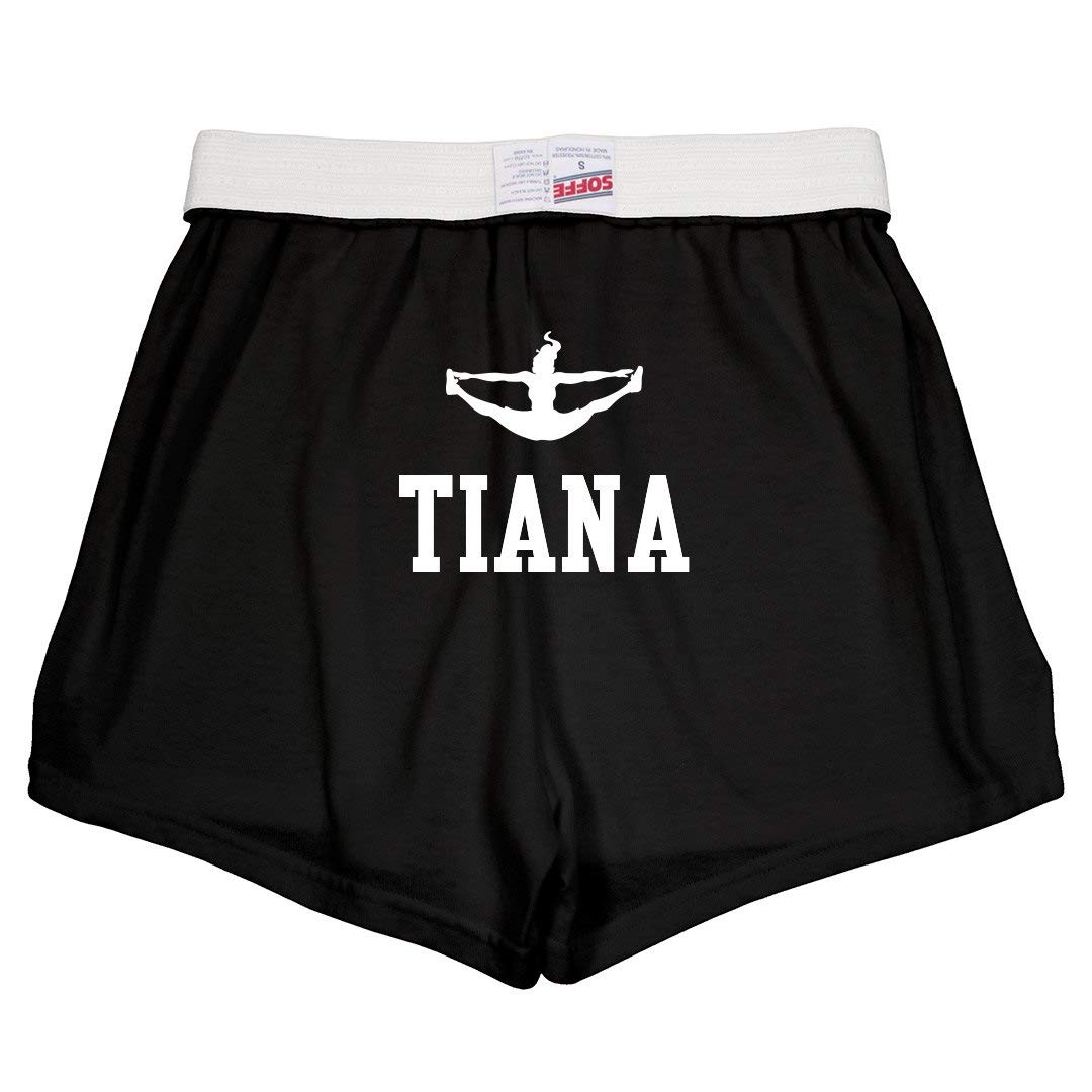 Tiana Cute Cheer Practice Youth Soffe Shorts