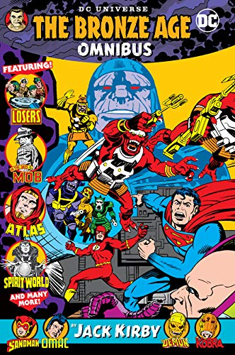 DC Universe Bronze Age Omnibus by Jack Kirby ()